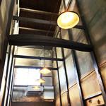 ◯間 - 町家特有の火袋スペース