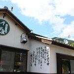 そば茶屋付知店 - 店の外観でおます。