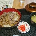 ダイニングカフェ846 - 無角和牛丼[¥1000](税別)