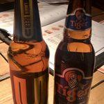 Siam ERAWAN - タイビール飲み比べセット(Uビール、タイガービール) ¥1,000