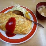 栄安 - 料理写真:オムライス