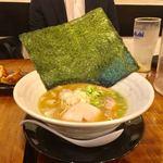 濃厚鶏麺 ゆきかげ - 黒 濃厚鶏白湯そば 醤油780円