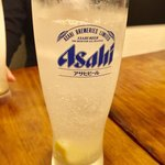 濃厚鶏麺 ゆきかげ - レモンサワー