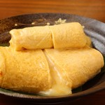 旬彩ダイニング拓 - チーズ出し巻き