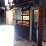 揚子江ラーメン 名門 - 入口付近(2011年11月21日撮影)