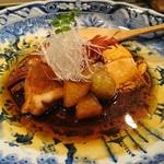 魚貝三昧 げん屋 - 釣りきんきの煮付け