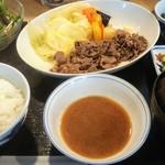 きりん食堂 - 料理写真:オリーブ焼き定食1058円税込