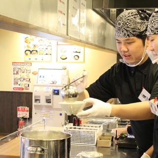 『お客様を美味しい料理と接客で元気にしたい!