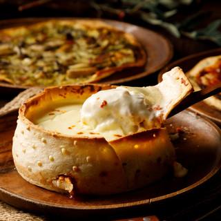 【あふれるチーズ】シカゴピザ!