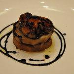 オステリア サクラ - 京芋とフォアグラのソテー