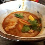 八重洲さくらst. 海老バル リッチパクチー - 若鳥と野菜のトムヤムガイヌードル