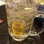 Fukuseirou - ビールの後は角ハイボール!