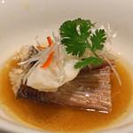 京 静華 - 鯛の蒸し物
