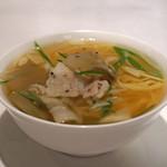 京 静華 - 搾菜と豚肉のタン麺