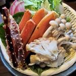 104904205 - 生ズワイ蟹の水炊き鍋