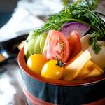 神奈川地場野菜盛り