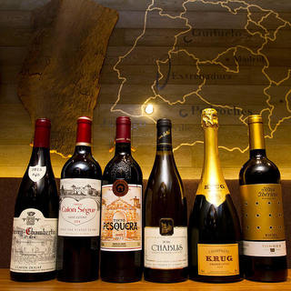 【料理との相性抜群】隠れ家で愉しむスペインワイン