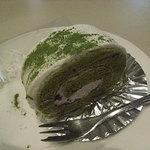 喫茶室ルノアール - 抹茶ロールケーキ