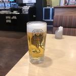 ガスト - 生ビール(ジョッキ)税込216円(ハーピーアワー)