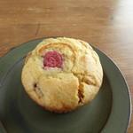 カフェ カッパー キャット - 苺とホワイトチョコのマフィン