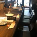 炭火串焼専門店 鶏天 - カウンター
