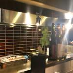 炭火串焼専門店 鶏天 - 焼き場