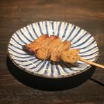 炭火串焼専門店 鶏天 - 皮