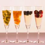 ANAクラウンプラザ ビアテラス - フォトジェニックなフルーツスパークリングワインも新登場!