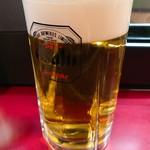 丸八やきとりチェーン店 - 生ビール