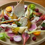 CHIKYU FARM TO TABLE - 京野菜と湘南野菜のよくばりディップ