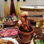 炭火焼肉ホルモン しんちゃん - 集合②