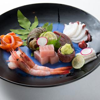 日本海のお刺身は最高です!