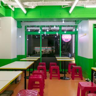 タイ屋台食堂空間
