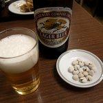 スヰートポーヅ - ビール & 塩豆