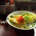 お多福 - 料理写真:赤ワイン & 明石焼風オムレツ