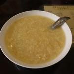 海南飯店 - コーンスープ