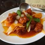 海南飯店 - 酢豚