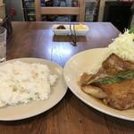 洋食ますだ - 今回は「グリルチキン」1000円です(2019.4.2)