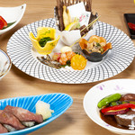 仙台味噌仕立ての牛たんシチュー レディース膳