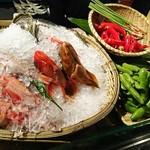 魚貝三昧 げん屋 - 本日の新鮮食材達~