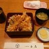 白扇 - 料理写真:天丼(800円)