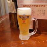 信楽茶屋 - 2019.3 生ビール