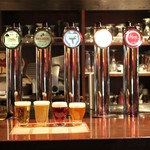 ベルギービールバー 麦酒本舗 - 樽生のラインナップは全6種