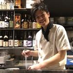 104926649 - 彼が又三郎くん。笑顔が良い男前。