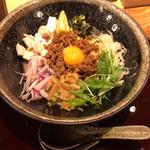 紀州麺処 誉 - 鶏白湯まぜそば(¥880)