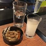 純米酒バー すじかい - 七田 おりがらみ