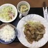 麻瀬憧庵 - 料理写真:豚しょうが焼きセット