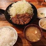 iberikobutaondoruyakiurashibuya - おんどるトンテキランチ1,500円