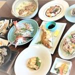 かねよ旅館 - 料理写真:地魚コース
