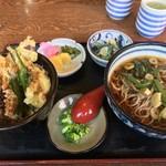 Jouren - ミニ天丼と山菜そば(温)